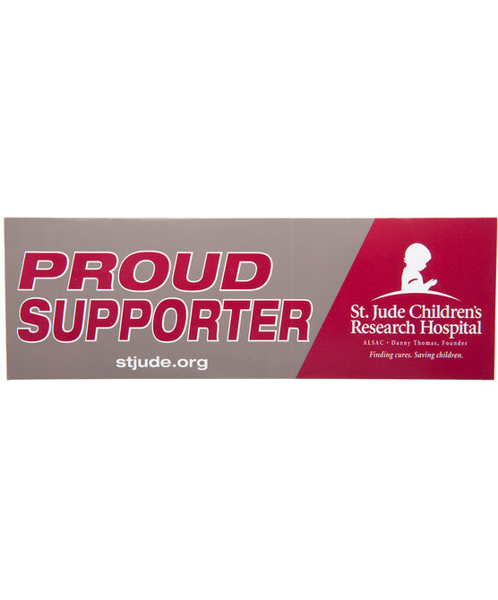 Proud Supporter Bumper Sticker