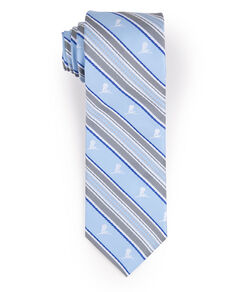Brooks Brothers Gold and Blue Stripe Tie
