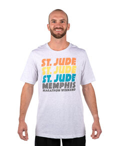 Unisex St. Jude Repeat Design T-Shirt