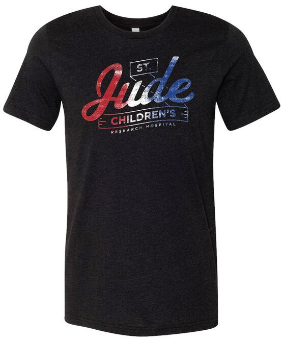 St. Jude Patriotic Design T-Shirt