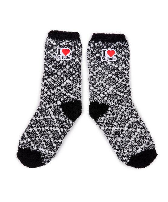 Heathered Fuzzy Socks