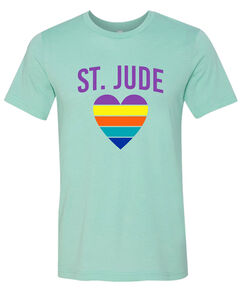 Rainbow Heart St. Jude T-Shirt