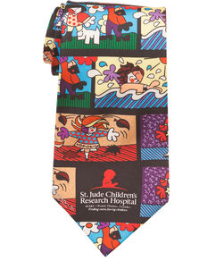 Romero Britto Seasons Tie