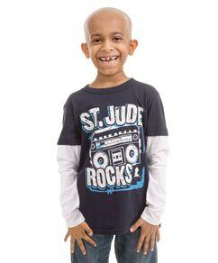 Youth St. Jude Rocks Long Sleeve T-Shirt