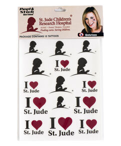 St. Jude Waterless Tattoos
