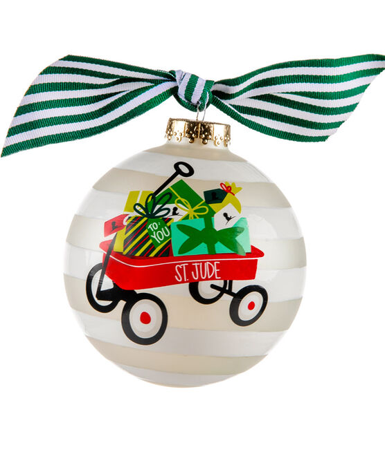 """2020 St. Jude Wagon & Gifts 4"""" Ornament"""