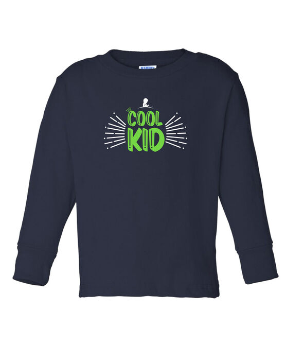 Kids Cool Kid Long Sleeved T Shirt
