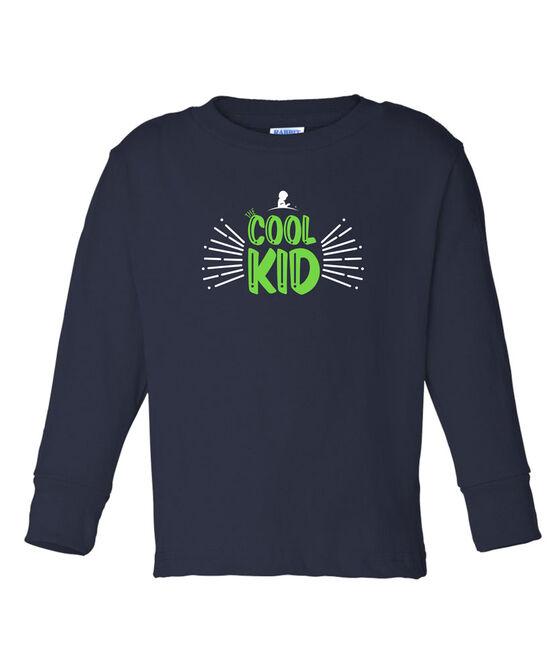 Kids Cool Kid Long Sleeved T Shirt