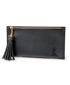 Womens Wallet with Tassel Black