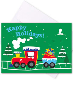 Train Honor Cards - Set of 5
