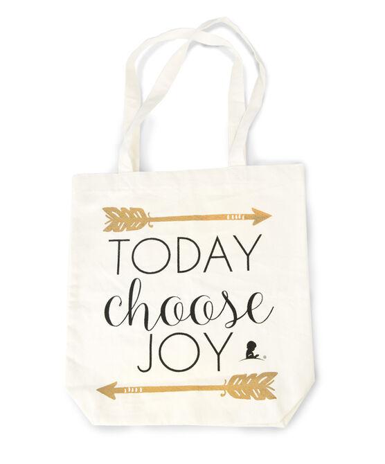 Today Choose Joy Canvas Tote