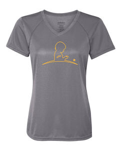 Women's Performance Gray T-Shirt