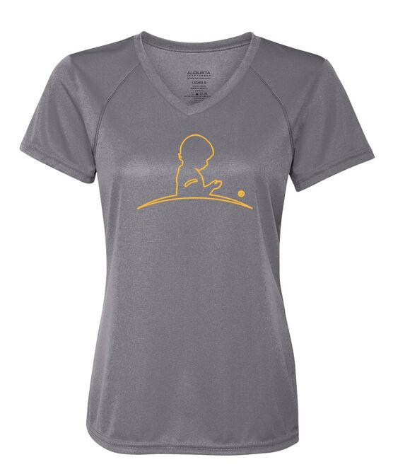 Women's Performance Gray T-Shirt