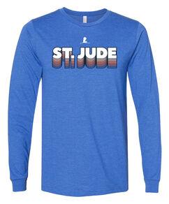 St. Jude 3D Repeat Long-Sleeve T-Shirt