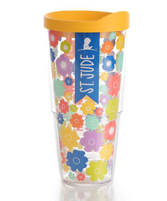 Floral Tervis Tumbler Multicolored 24 oz