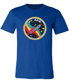 Adult Spaceship Patient Art-Inspired T-Shirt