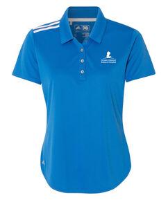 Women's Adidas Performance Blue Golf Polo