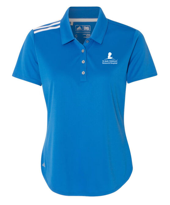 Women's Adidas Performance Blue Golf Polo