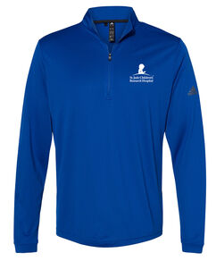 Men's Adidas Lightweight Quarter Zip Pullover