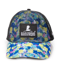 Patient Art Mesh Technical Trucker Hat