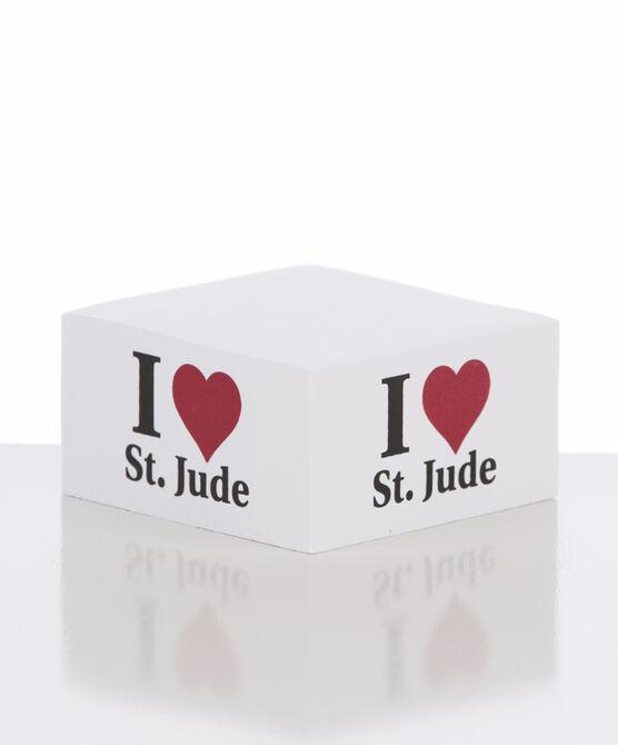 I Love St. Jude Post-It Cube