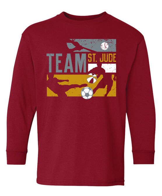 Kids Team St. Jude T Shirt
