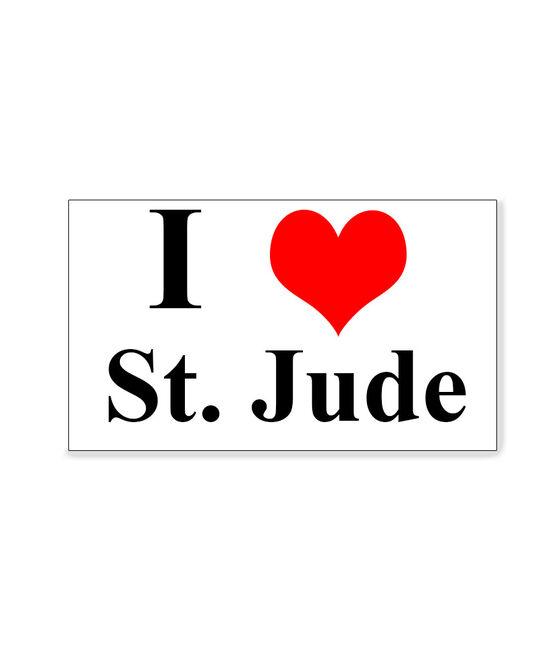 I Love St. Jude  Magnet