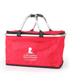Collapsible Insulated Picnic Basket Tote