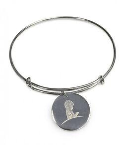 Silver Bangle Charm Bracelet
