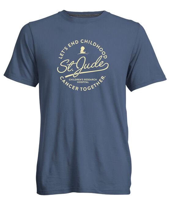 Let's End Cancer Circle Script T-Shirt
