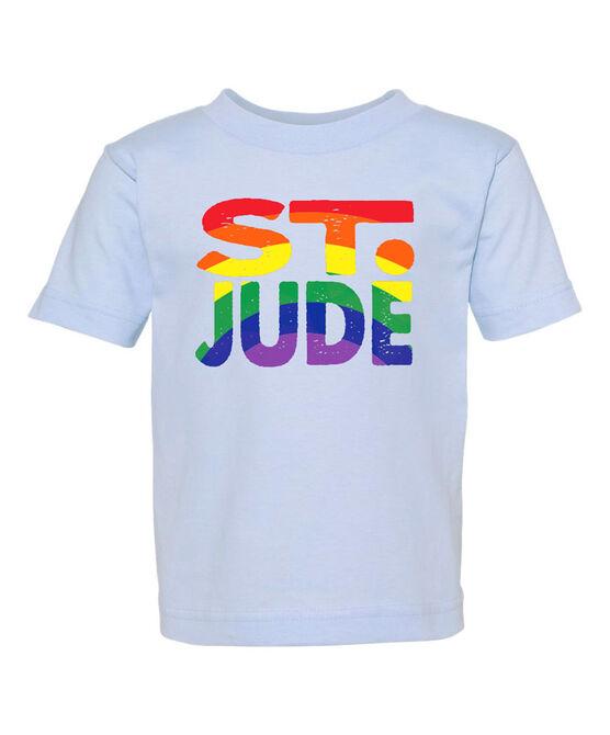 Toddler Rainbow Print St. Jude T-Shirt