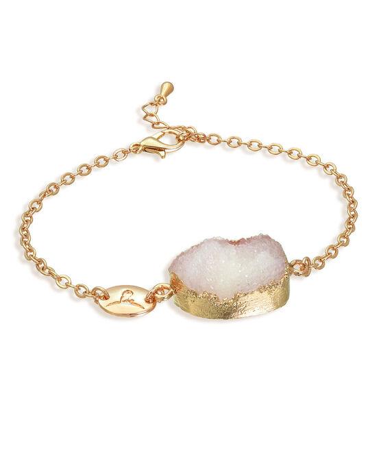 Druzy Crystal Gold Bracelet