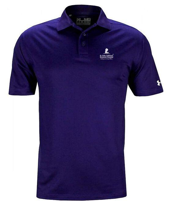 Men's Under Armour Performance Polo - Purple