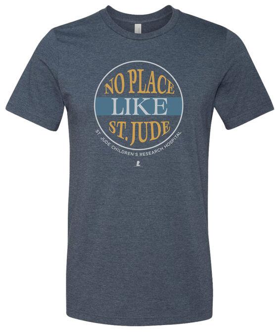 Circle No Place Like St. Jude T Shirt