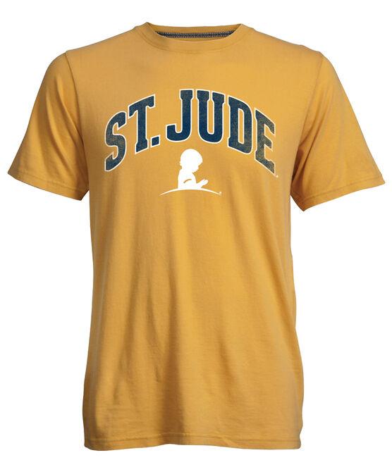 Gold Collegiate T Shirt