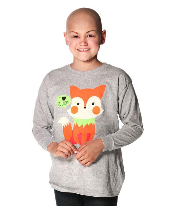 Kids Cute Fox T-Shirt