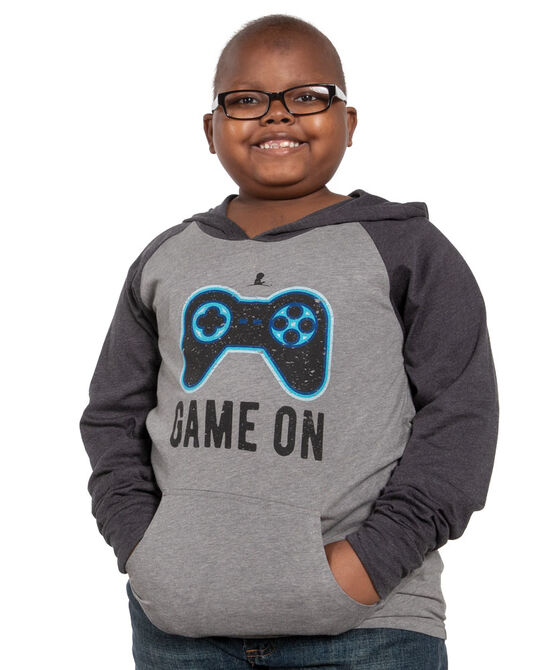 Youth Game-On Colorblock Hoodie T-Shirt