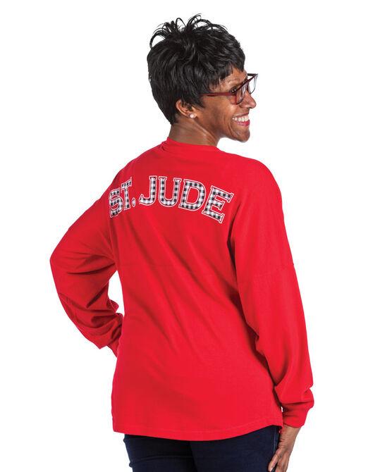 Women's Buffalo Varsity Style Long-Sleeve T-Shirt