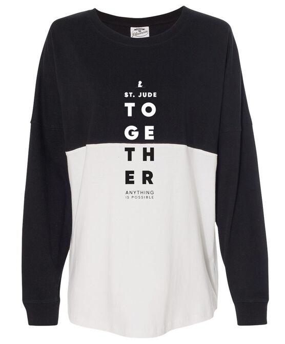Together Color Block Varsity T-Shirt