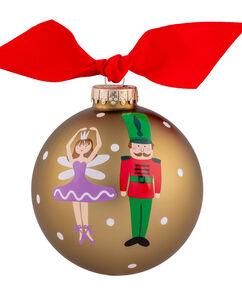 Ballerina & Nutcracker 4″ Ornament