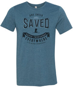 One Child Saved Banner T-shirt