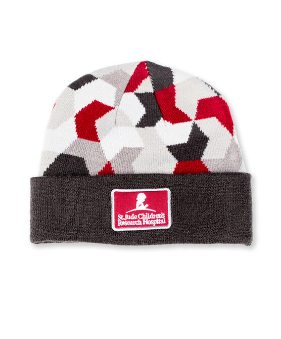 Youth Geometric Knit Beanie