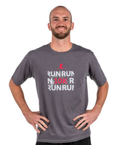 Unisex Run 10K Performance Shirt Grey