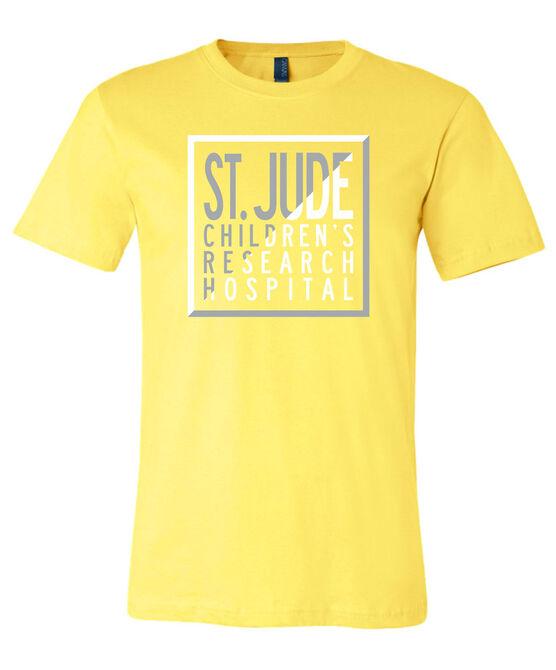St. Jude Color Block Diagonal T-Shirt