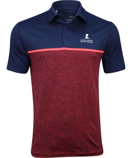 Under Armour Men's Striped Color-Block Golf Shirt