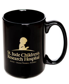St. Jude Ceramic Coffee Mug - Black