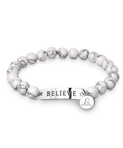Believe Bead Stretch Bracelet