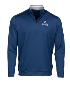 Men's Adidas Quarter Zip Navy Sweatshirt