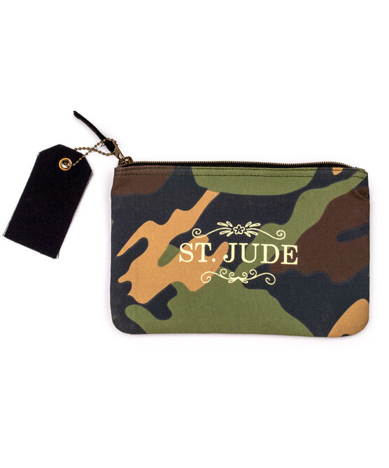 Camouflage Zippered Pouch