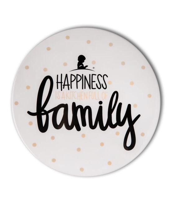 "Happiness 7"" Coton Colors Ceramic Trivet"